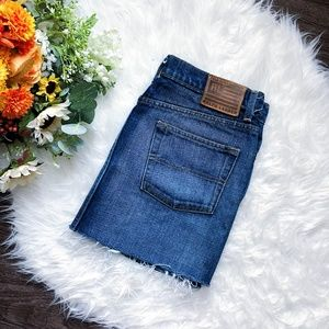 POLO RALPH LAUREN VINTAGE HIGHWAISTED DENIM SKIRT